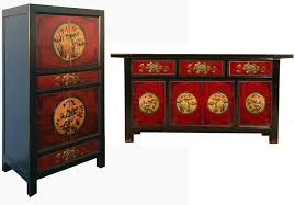 opium outlet wohnzimmer set redmagic 2 wohnzimmer set bestehend aus sideboard und schrank 2 tlg farblich abgestimmtes asiatisches design in