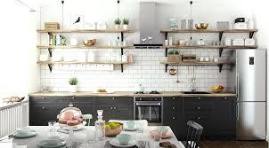 cuisine etagere murale etagere cuisine design cuisine a lambiance ractro etagere murale