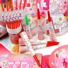 The ICING Journey Party Packs For A 1st Birthday Baby Girl
