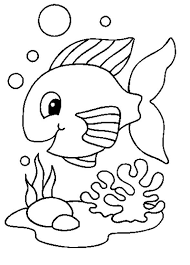 Pictures To Colour Fish In Style