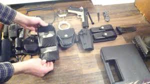 police explorer duty belt 2 youtube