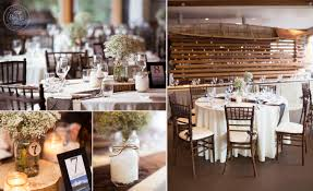 Janelle Of Special Event Rentals Made The Rustic Wedding Theme Come Together Perfectly