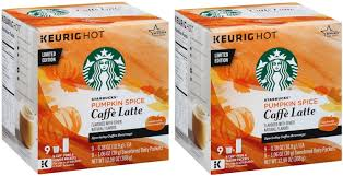 Pumpkin Spice Keurig Starbucks by Starbucks Pumpkin Spice Caffe Latte K Cups Limited Edition 2