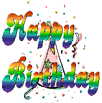 Animated Happy Birthday Animation