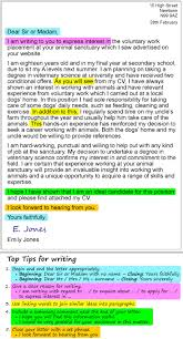 A Cover Letter LearnEnglish Teens British Council