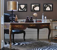 Black Writing Desk And Chair by Woven Black Leather Gold Desk Chair