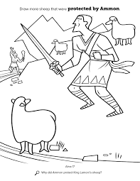 Ammon And The Kings Sheep