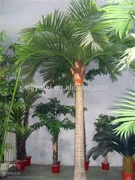 decorative fake artificial palm trees fiberglass coconut tree on