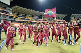 West Indies Cricket Player Celebrating After Wining The Match Photo