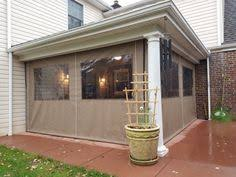 Vinyl Patio Curtains Outdoor by Clear Vinyl Roll Up And Down Curtains Youtube Wind Screens