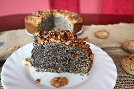 schmandkuchen mit mohn walnüssen einfaches rezept