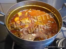 comment cuisiner poulet fumé sauce graine plat africain jeannette cuisine