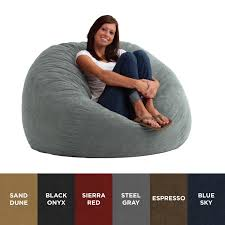 King Fuf Bean Bag Chair by Awesome Memory Foam Bean Bag Chair For Interior Designing Home