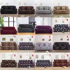 Stretch Slipcovers For Sofa by Sofa Covers Slipcovers Ebay