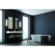 led wandleuchte linienle spiegelleuchte badezimmer ip44 chrom inkl 1x led 6 watt warmweiß