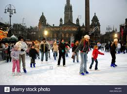 Ice Skating On Outdoor Ice Rink, George Square. City Chambers In ... First Time Building A Backyard Ice Rink Day 5 Skating How To Build A Rink Sport Resource Group Of Dreams Michigan Family Built An Amazing Outdoor Hockey Outdoor Pond Hockey Where Childhood Are Complete And Best Flooding Images With Awesome Rinks Can I Build Rink Over My Inground Pool Bench For 20 Or Less 2013 Youtube Rinks Have Loved Tips Making Your Very Own Snapshot Synthetic Ice In Vienna To Create Backyard Skating Customers
