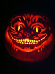 Cheshire Cat Pumpkin Stencil Disney by Jack O U0027 Lanterns With Famous Faces Cat Pumpkin Carving Cheshire