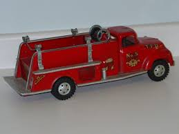 Vintage Tonka Fire Dept. Truck, Pressed Steel Toy Vehicle, No. 5 ... Vintage Metal Tonka Fire Truck Aerial Ladder Engine Engine And Fire Truck Deals On 1001 Blocks 1958 Tonka 5 Pumper Fire Truck Profit With John Venheim Original Vintage 1950s Tfd No Toy Jeep In Unopened Box Ebay Ewillys Nos Tiny No 675 W Original Dept Hose Pumper Donated To Museum Whiteboard Product Metal