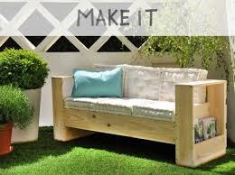 canapé diy diy réaliser un canapé d extérieur en bois leroy merlin