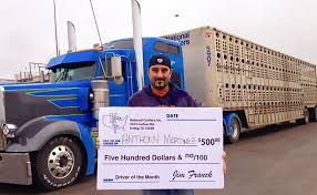 100 National Truck Driving Jobs Anthony Martinez Named As October Driver Of The Month Class A Drivers