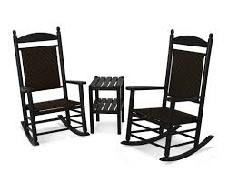 POLYWOOD® Jefferson 3-Piece Woven Rocker Set In Mahogany Frame / Tigerwood  (PWS141-1-FMATW) By Www.patiostore.com Polywood Pws11bl Jefferson 3pc Rocker Set Black Mahogany Patio Wrought Iron Rocking Chair Touch To Zoom Outdoor Cu Woven Traditional That Features A Comfortable Curved Seat K147fmatw Tigerwood With Frame Recycled Plastic Pws11wh White Outdoor Resin Rocking Chairs Youll Love In 2019 Wayfair Wooden All Weather Porch Rockers Vermont Woods Studios