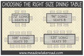 catchy 8 seater dining table dimensions 17 best ideas about round