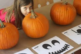 Cute Pumpkins Stencils by Diy How I Carved These Cute Pumpkins Catch My Party