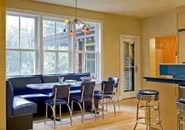 kitchen booth ideas kitchen contemporary with metal barstools wood