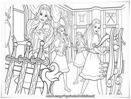 Barbie And Three Musketeers Coloring Pages In Armour Room