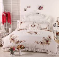 Buy DIAIDI Home Textile White Lace Ruffle Embroidered Duvet Cover Bedding Set Rustic Vintage In Cheap Price On Alibaba