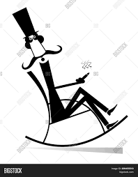 Man Rests Rocking Image & Photo (Free Trial) | Bigstock Tanabata Valentines Day Couple The Man Woman Carpet Old Man Smoking In Rocking Chair By F Laucke Pty Ltd 574405 Corda Rocking Chair Rests Image Photo Free Trial Bigstock Silhouette Of Lady Sitting In Rocker Cigar Isolated Mustache Top Hat Vintage Stencil Left Side Tilted Vector Art 1936 Downloads Pin On Outofcopyright Black Pictures Download Images Unsplash