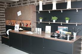 touch küche 2 laminatlack schwarz matt bronze