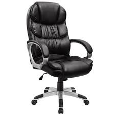 Furmax High Back Office Chair PU Leather Executive Desk Chair With Padded  Armrests,Adjustable Ergonomic Swivel Task Chair With Lumbar Support(Black) Tone High Back Ergonomic Office Chair Office Chairs And Ergonomic Computer Staples Puula Officemate Homall Gaming Chair Racing High Back Leather Desk Adjustable Swivel Manage With Headrest Lumbar Support Black Sl4000 Blackcarbon Edition Gamestop Dania Fniture Humanscale Solutions Markus Chair Glose Black Robust Ea117 Eames Household Seat Covers Pu Executive