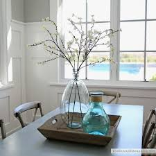 Enjoyable Design Ideas Kitchen Table Centerpieces Best 25 Everyday On Pinterest Tags Top 9 Dining Room Centerpiece I Like The Dark Brown Wall Color Cream