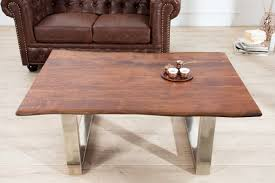 casa padrino designer massivholz akazie couchtisch natur braun 120 x h 45 cm salon wohnzimmer tisch