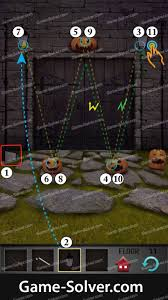 Halloween Escape Walkthrough by 100 Floors Seasons Tower Halloween Level 11 Game Solver