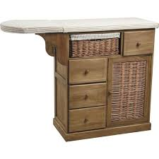 planche a repasser en bois commode table à repasser rangement pour