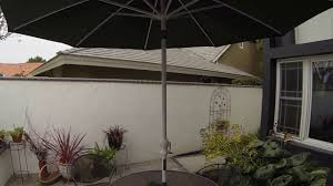 Kohls Market Patio Umbrella by Solar Sound Patio Umbrella Youtube