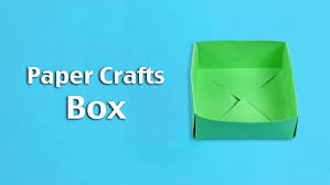 How To Make Simple Origami Paper Craft For Kids Tutorial Box Stylish Ideas Easy