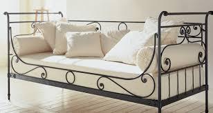 lit canap fer forg canapé lit fer forgé royal sofa idée de canapé et meuble maison