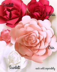 DIY Paper Flower Instructions Flowers How To Templates For