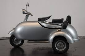 Maker Piaggio Model Vespa Sidecar Year 1958 Condition Restored