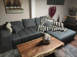 sofa schlafsofa wohnzimmersofa grau ausfahrbar elektrisch
