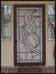 Steel Interior Security Doors Home Design Ideas and