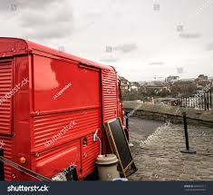 Castle Snack Truck Edinburgh Scotland United Stock Photo (Royalty ...
