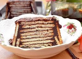 chocolate cookie cake german cake kalter hund