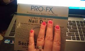 at home diy shellac manicure with uv light weddingbee