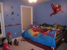 Awesome Boy Themed Rooms And Modern Baby Room Ideas Images Design At Large House Little Boys Playful Superhero Bedroom Provide