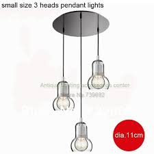 dia 11 16 5cm small size 3 heads ceiling base big light