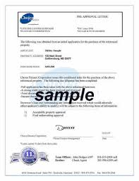 Mortgage mitment letter sample pre approval qualification recent